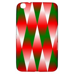 Christmas Geometric Background Samsung Galaxy Tab 3 (8 ) T3100 Hardshell Case  by Sapixe