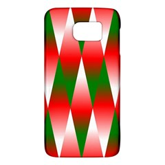 Christmas Geometric Background Galaxy S6 by Sapixe