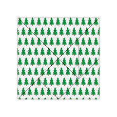 Christmas Background Christmas Tree Acrylic Tangram Puzzle (4  X 4 ) by Sapixe