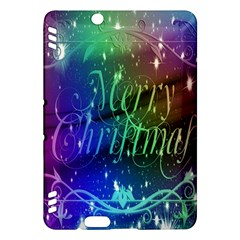 Christmas Greeting Card Frame Kindle Fire Hdx Hardshell Case by Sapixe
