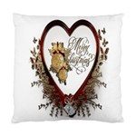 Christmas Décor Decoration Winter Standard Cushion Case (Two Sides) Front