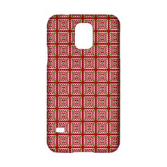 Christmas Paper Wrapping Paper Samsung Galaxy S5 Hardshell Case  by Sapixe
