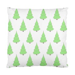 Background Christmas Christmas Tree Standard Cushion Case (two Sides) by Sapixe