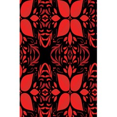 Christmas Red And Black Background 5 5  X 8 5  Notebooks by Sapixe