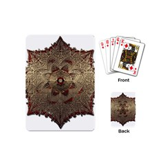Jewelry Jewel Gem Gemstone Shine Playing Cards (mini)  by Sapixe