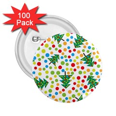 Pattern Circle Multi Color 2 25  Buttons (100 Pack)  by Sapixe