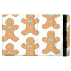 Pattern Christmas Biscuits Pastries Apple Ipad 3/4 Flip Case by Sapixe