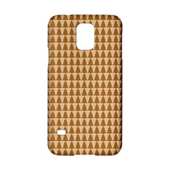 Pattern Gingerbread Brown Samsung Galaxy S5 Hardshell Case  by Sapixe
