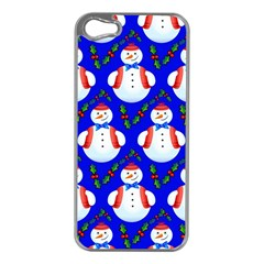 Seamless Repeat Repeating Pattern Apple Iphone 5 Case (silver) by Sapixe