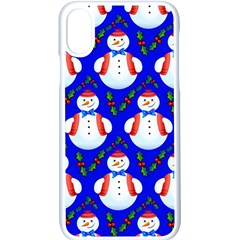 Seamless Repeat Repeating Pattern Apple Iphone X Seamless Case (white)