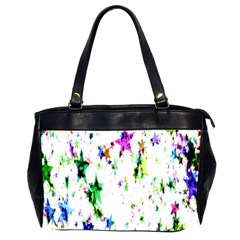 Star Abstract Advent Christmas Office Handbags (2 Sides)  by Sapixe