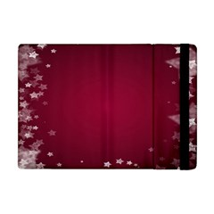 Star Background Christmas Red Apple Ipad Mini Flip Case by Sapixe