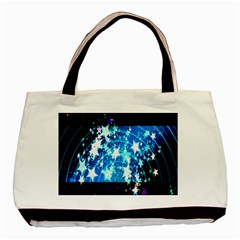 Star Abstract Background Pattern Basic Tote Bag by Sapixe