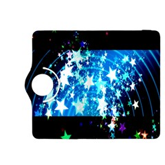 Star Abstract Background Pattern Kindle Fire Hdx 8 9  Flip 360 Case by Sapixe