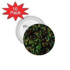 Star Abstract Advent Christmas 1 75  Buttons (10 Pack) by Sapixe