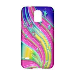 Star Christmas Pattern Texture Samsung Galaxy S5 Hardshell Case  by Sapixe