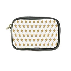 Star Background Gold White Coin Purse by Sapixe