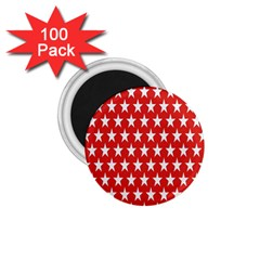 Star Christmas Advent Structure 1 75  Magnets (100 Pack)  by Sapixe