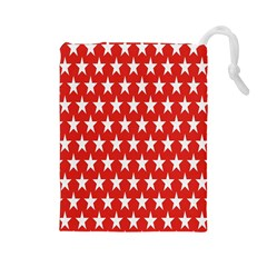 Star Christmas Advent Structure Drawstring Pouches (large)  by Sapixe