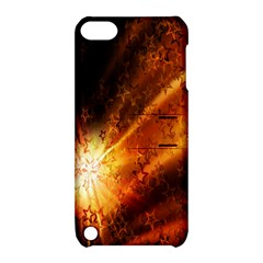 Star Sky Graphic Night Background Apple Ipod Touch 5 Hardshell Case With Stand by Sapixe