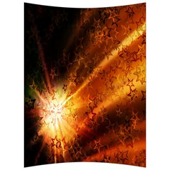 Star Sky Graphic Night Background Back Support Cushion