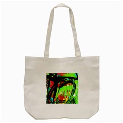 Quiet Place Tote Bag (cream) by bestdesignintheworld