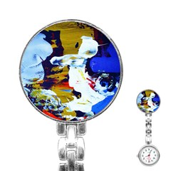 Balboa   Island On A Sand 21 Stainless Steel Nurses Watch by bestdesignintheworld