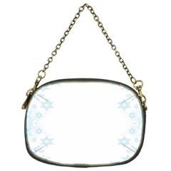 The Background Snow Snowflakes Chain Purses (one Side)  by Sapixe