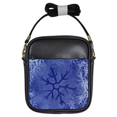 Winter Hardest Frost Cold Girls Sling Bags by Sapixe
