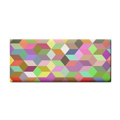 Mosaic Background Cube Pattern Cosmetic Storage Cases by Sapixe