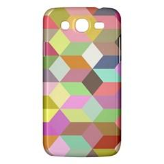 Mosaic Background Cube Pattern Samsung Galaxy Mega 5 8 I9152 Hardshell Case  by Sapixe