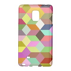 Mosaic Background Cube Pattern Galaxy Note Edge by Sapixe