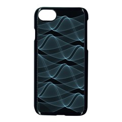 Desktop Pattern Vector Design Apple Iphone 8 Seamless Case (black)