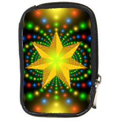 Christmas Star Fractal Symmetry Compact Camera Cases by Sapixe