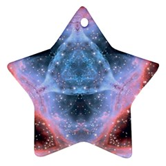 Sacred Geometry Mandelbrot Fractal Star Ornament (two Sides) by Sapixe