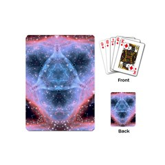 Sacred Geometry Mandelbrot Fractal Playing Cards (mini)  by Sapixe