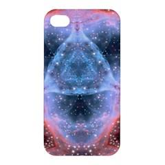 Sacred Geometry Mandelbrot Fractal Apple Iphone 4/4s Premium Hardshell Case by Sapixe