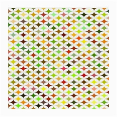 Background Multicolored Star Medium Glasses Cloth by Sapixe