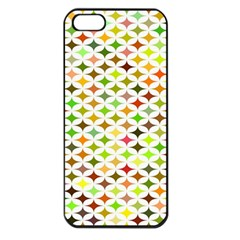 Background Multicolored Star Apple Iphone 5 Seamless Case (black) by Sapixe