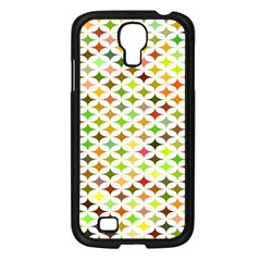 Background Multicolored Star Samsung Galaxy S4 I9500/ I9505 Case (black) by Sapixe