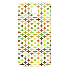 Background Multicolored Star Galaxy Note 4 Back Case by Sapixe