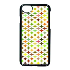 Background Multicolored Star Apple Iphone 7 Seamless Case (black) by Sapixe
