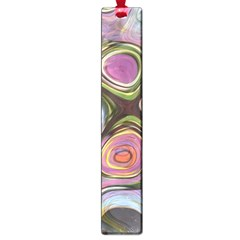 Retro Background Colorful Hippie Large Book Marks by Sapixe