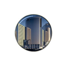 Skyscraper Skyscrapers Building Hat Clip Ball Marker (4 Pack) by Sapixe