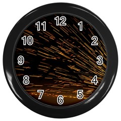 Metalworking Iron Radio Weld Metal Wall Clocks (black) by Sapixe