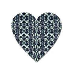 Intersecting Geometric Design Heart Magnet by dflcprints