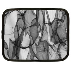 Abstract Black And White Background Netbook Case (xxl)  by Sapixe
