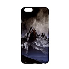 Mountains Moon Earth Space Apple Iphone 6/6s Hardshell Case