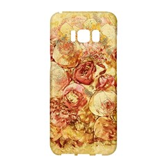 Vintage Digital Graphics Flower Samsung Galaxy S8 Hardshell Case