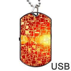 Board Conductors Circuits Dog Tag Usb Flash (one Side) by Sapixe